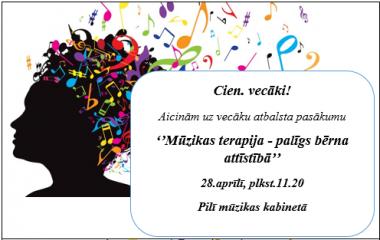 28. aprīlī gaidām skolēnu vecākus uz vecāku atbalsta pasākumu!