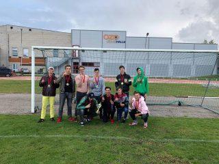 LSO čempioni futbolā